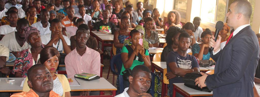 EMPSI c'est aussi une présence à Conakry, Dakar, Abidjan et Douala