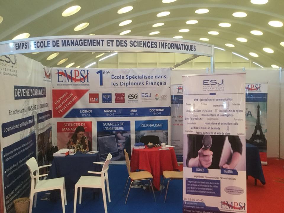 EMPSI représentée au Salon International des Licences et Masters : Des nouveautés cette année