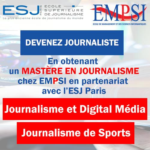 Journalisme EMPSI ESJ