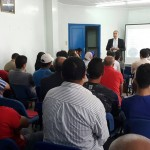 """M.Badreddine BOUCHOUIRAB, Président de l'Ecole de Management et des Sciences Informatiques (EMPSI), lors du séminaire organisée par la jeunesse du RNI Anfa sous le thème """"l'Orientation des jeunes"""""""