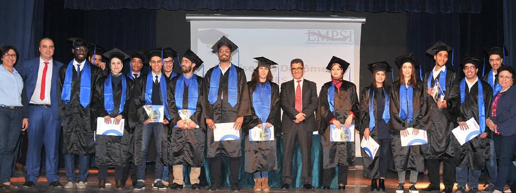 Cérémonie de remise des diplômes 2014-2015