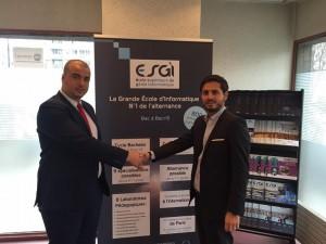 Signature d'une Convention de Partenariat entre le Groupe Français RÉSEAU GES et le Groupe EMPSI